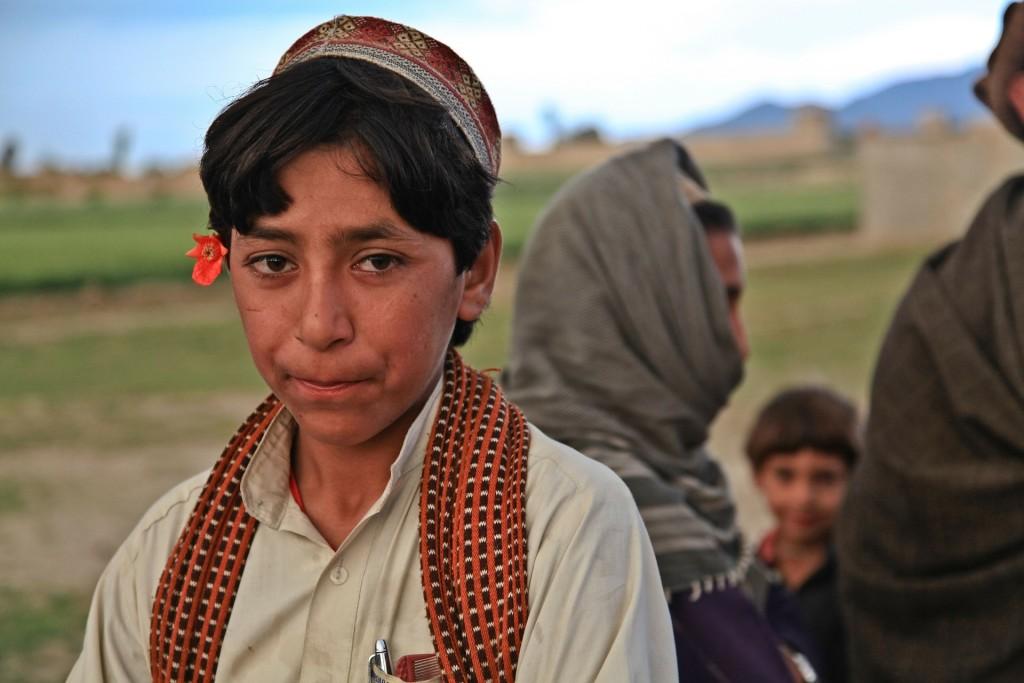 Afghaanse jongen