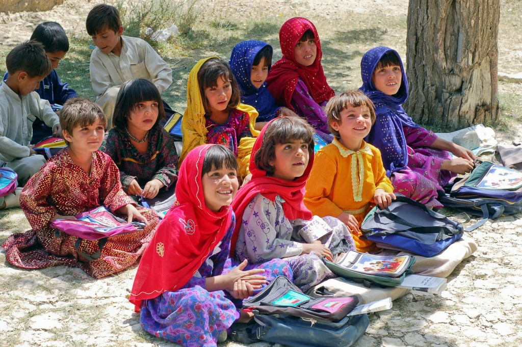 kinderen in Afghanistan